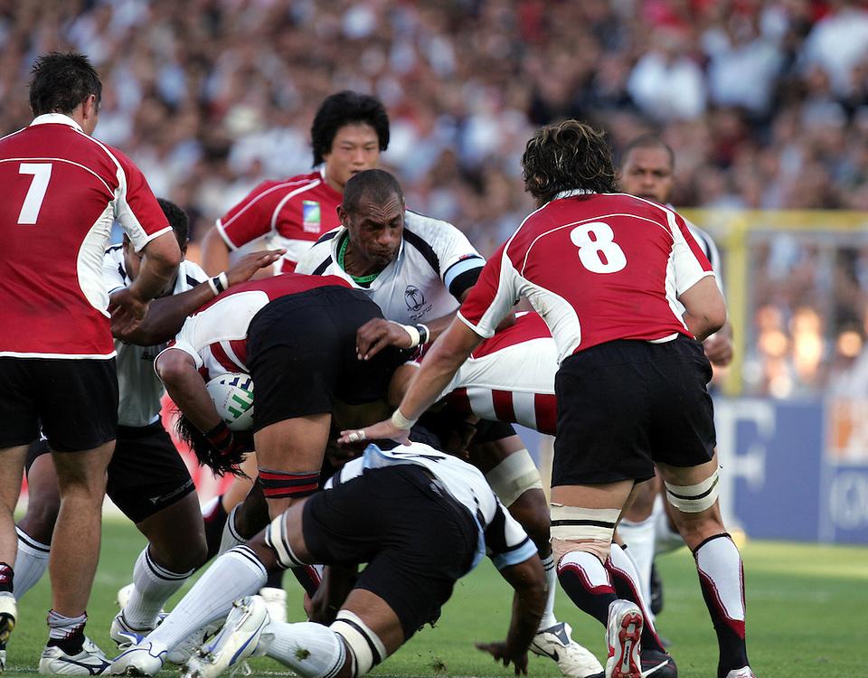 Fiji v Japan, Pool B, Match 11, Pool B. 12th September 2007. Stadium De Toulouse, Toulouse, France.
