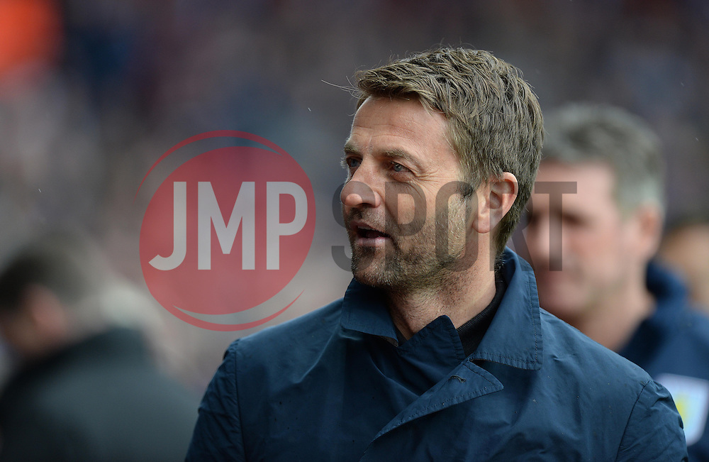 Aston Villa Manager, Tim Sherwood - Photo mandatory by-line: Alex James/JMP - Mobile: 07966 386802 - 02/05/2015 - SPORT - Football - Birmingham - Villa Park - Aston Villa v Everton - Barclays Premier League