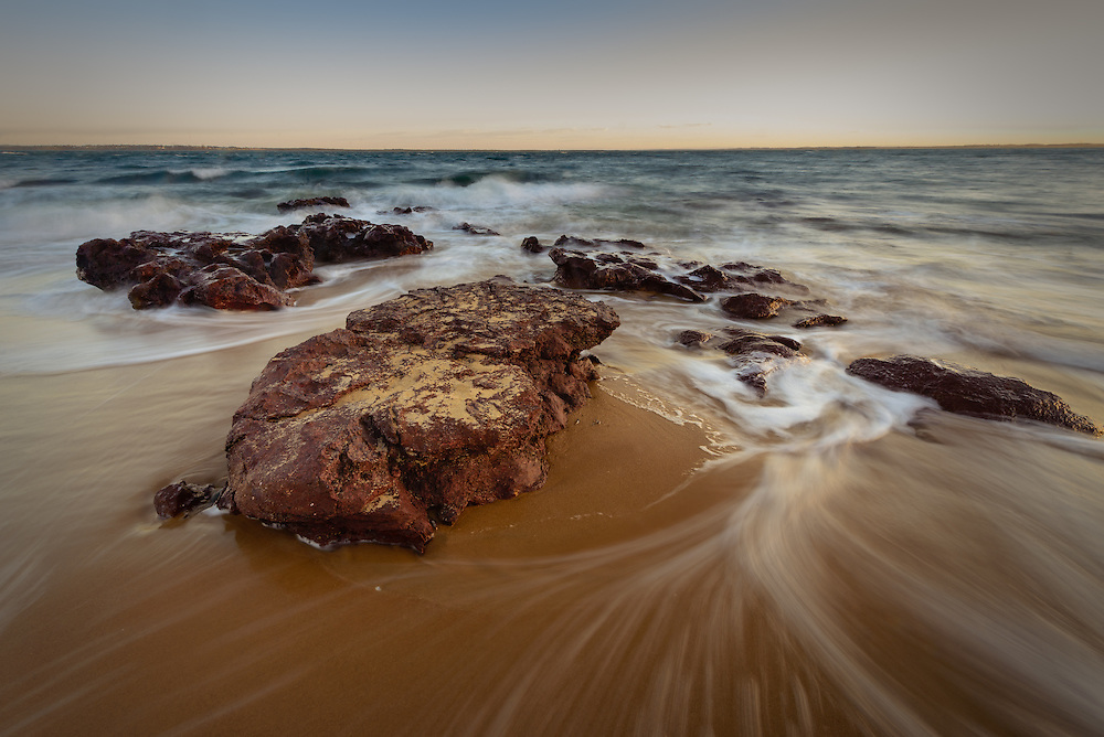 Red Rocks Beach, Phillip Island at dawn