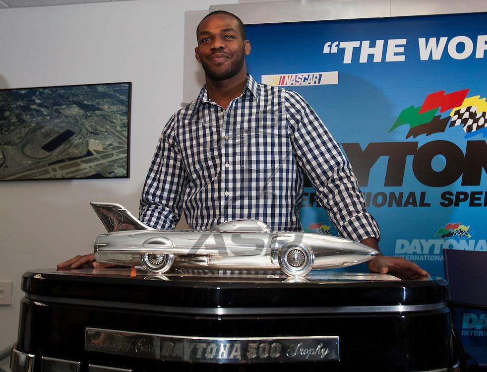 26 February, 2012:   during the Daytona 500 at the Daytona International Speedway in Daytona Beach, FL.