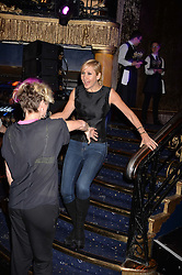 Tania Bryer at the SheInspiresMe Dance in aid of Women for Women International held at the Café de Paris, 3 Coventry Street, London England. 25 January 2017.