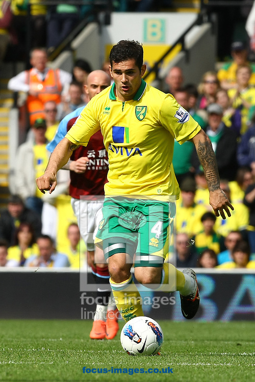 Picture by Paul Chesterton/Focus Images Ltd.  07904 640267.13/05/12.Bradley Johnson of Norwich in action during the Barclays Premier League match at Carrow Road Stadium, Norwich.