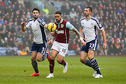 Burnley's Danny Ings attacks  - Photo mandatory by-line: Matt McNulty/JMP - Mobile: 07966 386802 - 08/02/2015 - SPORT - Football - Burnley - Turf Moor - Burnley v West Brom - Barclays Premier League