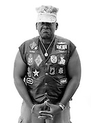 Military veterans of Rolling Thunder.  Photo by Johnny Bivera