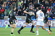 Glasgow Warriors replacement Tim Swinson (19)  during the Heineken Champions Cup match between Glasgow Warriors and Cardiff Blues at Scotstoun Stadium, Glasgow, Scotland on 13 January 2019.