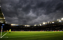 Dark Rain Clouds gather over the King Power Stadium, home of Leicester City - Mandatory by-line: Robbie Stephenson/JMP - 18/05/2017 - FOOTBALL - King Power Stadium - Leicester, England - Leicester City v Tottenham Hotspur - Premier League