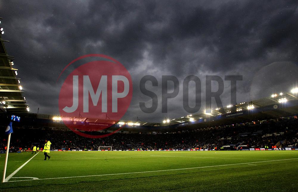 Dark Rain Clouds gather over the King Power Stadium, home of Leicester City - Mandatory by-line: Robbie Stephenson/JMP - 18/05/2017 - FOOTBALL - King Power Stadium - Leicester, England - Leicester City v Tottenham Hotspur - Premier League