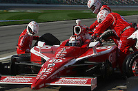 Scott Dixon, Road Runner Turbo Indy 300, Kansas Speedway, Kansas City, KS USA 27/4/08