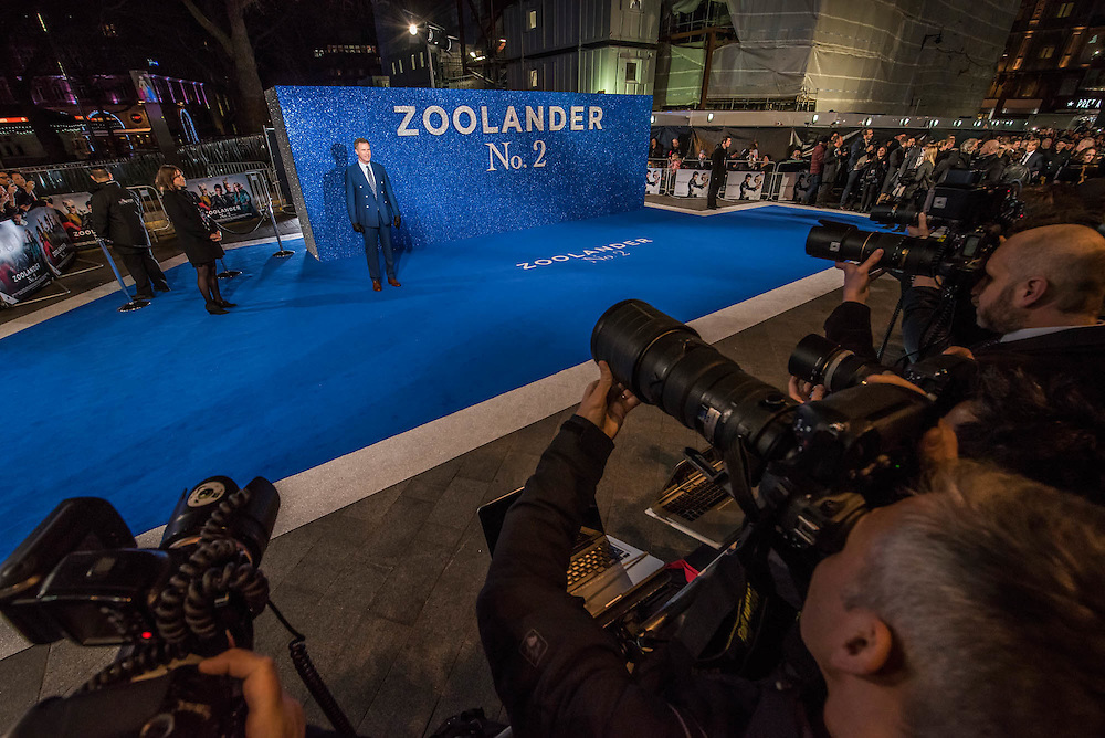 Will Ferrell - Paramount Pictures Presents A 'Fashionable' Screening of Zoolander No.2  - the sequel directed by and starring Ben Stiller.