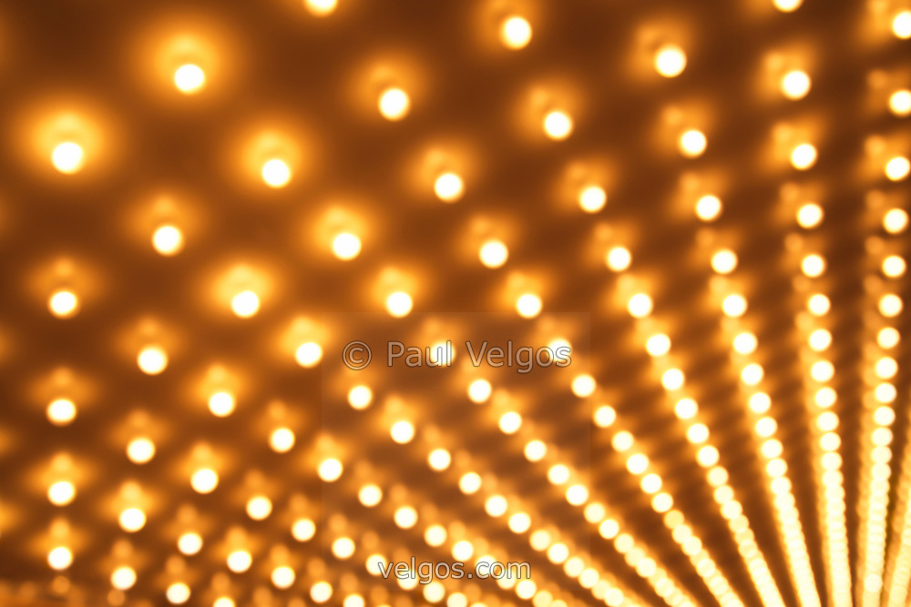 Picture of Theater Lights Blurred | Buy Canvas Prints