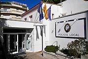 Police, station, Tossa De Mar, Costa Brava, Spain