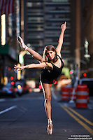 Dance As Art New York City Photography Project Midtown Manhattan with dancer, Rachel Fine.