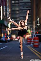 Dance As Art New York City Photography Project Midtown Manhattan with dancer, Rachel Fine.