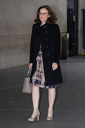 London, October 29 2017. Former Northern Ireland Secretary Theresa Villiers MP outside the BBC in London as she arrives for the Sunday Politics programme. © Paul Davey