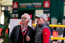 BUCHWALD Achaz von, SCHWIZER Pius (SUI)<br /> Leipzig - Partner Pferd 2019<br /> Longines FEI Jumping World Cup<br /> Sparkassen-Cup - Grosser Preis von Leipzig<br /> 20. Januar 2019<br /> © www.sportfotos-lafrentz.de/Stefan Lafrentz