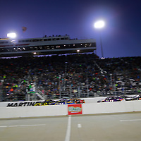 October 29, 2017 - Martinsville, Virginia, USA: Brad Keselowski (2) takes the green flag during the First Data 500 at Martinsville Speedway in Martinsville, Virginia.