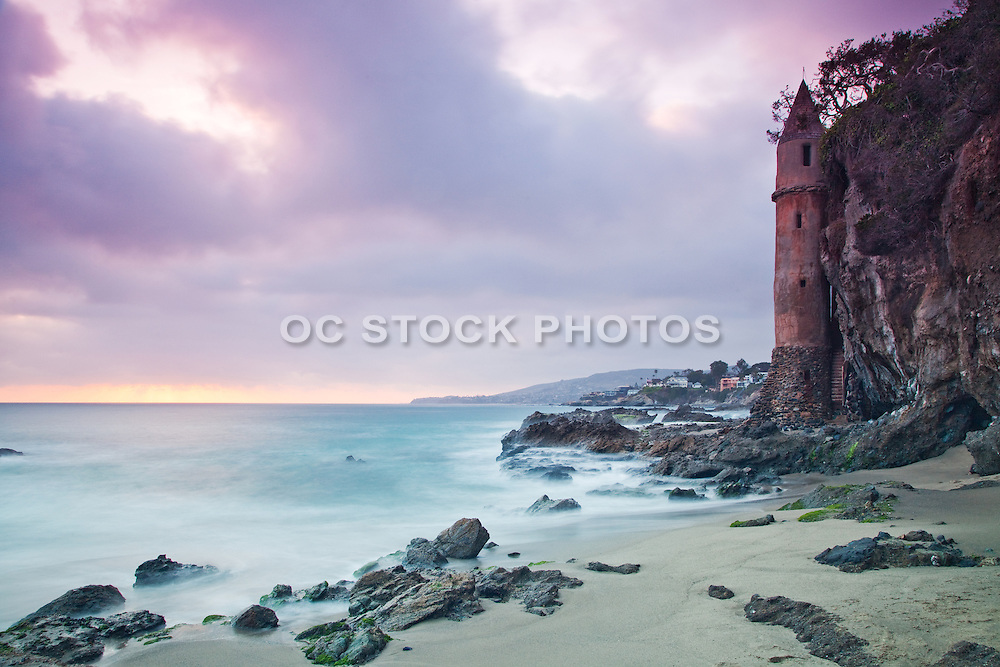 Victoria Tower In Laguna Beach California