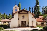 IGLESIA DE USPALLATA NUESTRA SENORA DEL CARMEN DE CUYO, PROVINCIA DE MENDOZA, ARGENTINA (PHOTO © MARCO GUOLI - ALL RIGHTS RESERVED)