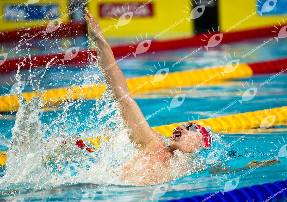 KAWECKI Radoslaw POL   Gold Medal.Men 200m Backstroke.FINA World Short Course Swimming Championships.Istanbul Turkey 12 - 16 Dec. 2012.Day 05.Photo G.Scala/Deepbluemedia/Inside