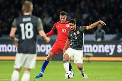 Germany's Sami Khedira is closed down by England's Dele Alli - Mandatory by-line: Matt McNulty/JMP - 26/03/2016 - FOOTBALL - Olympiastadion - Berlin, Germany - Germany v England - International Friendly