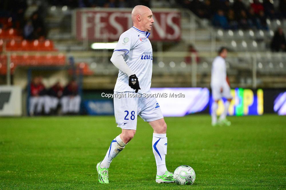 Sebastien PUYGRENIER   - 19.12.2014 - Auxerre / Niort - 18e journee Ligue 2<br /> Photo : Dave Winter / Icon Sport