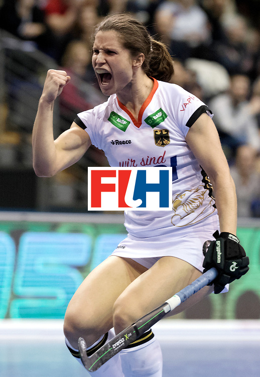BERLIN - Indoor Hockey World Cup<br /> Women: Czech Republic - Germany<br /> foto: Luisa Steindor.<br /> WORLDSPORTPICS COPYRIGHT FRANK UIJLENBROEK