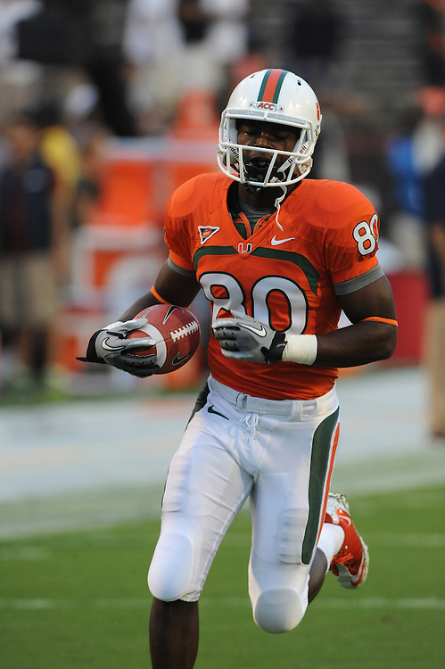 2011 Miami Hurricanes Football @ Maryland<br /> <br /> Rashawn Scott
