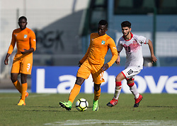 AUBAGNE, FRANCE - Tuesday, May 30, 2017: Ivory Coast's Sekou Bamba during the Toulon Tournament Group B match between Bahrain and Ivory Coast at the Stade de Lattre-de-Tassigny. (Pic by Laura Malkin/Propaganda)