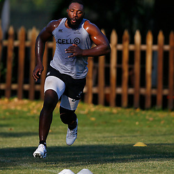 DURBAN, SOUTH AFRICA - MAY 21: Tendai Beast Mtawarira of the Cell C Sharks during the Cell C Sharks training session at Jonsson Kings Park on May 21, 2019 in Durban, South Africa. (Photo by Steve Haag/Gallo Images)