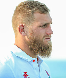 Brad Shields of England - Mandatory by-line: Steve Haag/JMP - 14/06/2018 - RUGBY - Hotel Umhlanga - Durban, South Africa - England Rugby Press Conference, South Africa Tour
