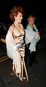 30.JANUARY.2007. LONDON<br /> <br /> CLEO ROCOS ARRIVING AT THE BIG BROTHER WRAP PARTY AT VICTORIA HOUSE, RUSSEL SQUARE. SHE WALKS IN THE DOOR SHE LOOSES HER FOOTING AND REVEALS A LITTLE TO MUCH CLEVAGE.<br /> <br /> BYLINE: EDBIMAGEARCHIVE.CO.UK<br /> <br /> *THIS IMAGE IS STRICTLY FOR UK NEWSPAPERS AND MAGAZINES ONLY*<br /> *FOR WORLD WIDE SALES AND WEB USE PLEASE CONTACT EDBIMAGEARCHIVE - 0208 954 5968*