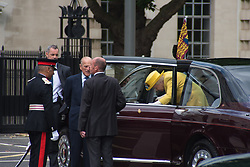 July 13, 2017 - London, England, United Kingdom - Her Majesty, Queen Elizabeth II, accompained by Prince Phillip, the Duke of Edinburgh, opens the new Headquarters of the Metropolitan Police, london on July 13, 2017  (Credit Image: © Alberto Pezzali/NurPhoto via ZUMA Press)