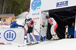 BALOGH Zsolt Guide: BOCSI Bence, B1, HUN at 2018 World Para Alpine Skiing Cup, Kranjska Gora, Slovenia