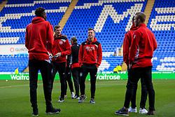 Bristol City players inspect he pitch  prior to kick off - Mandatory by-line: Jason Brown/JMP - 26/11/2016 - FOOTBALL - Madejski Stadium - Reading, England - Reading v Bristol City - Sky Bet Championship