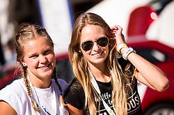 Ajda Bukovec and Neja Cuderman during ATP Challenger Zavarovalnica Sava Slovenia Open 2017, on August 12, 2017 in Sports centre, Portoroz/Portorose, Slovenia. Photo by Vid Ponikvar / Sportida