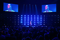 Jorja Smith performing wide angle