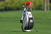 Chris Couch's bag sits in the fairway during the first round of the Honda Classic at PGA National on March 1, 2012 in Palm Beach Gardens, Fla. ..©2012 Scott A. Miller.