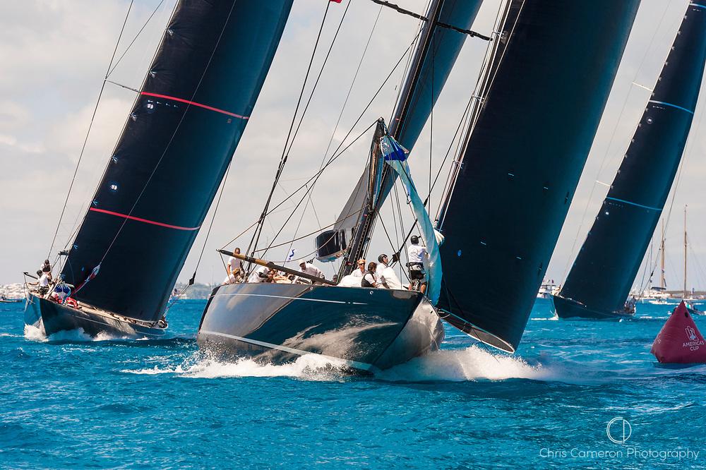 Bermuda, 19th June 2017, America's Cup J Class Regatta. Lionheart JH1.