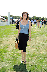 MARIE HELVIN at the Cartier International Polo at Guards Polo Club, Windsor Great Park on 27th July 2008.<br /> <br /> NON EXCLUSIVE - WORLD RIGHTS