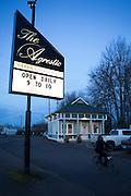 The Agrestic Green Collective, butik där man kan köpa både medicinsk- och rekreationsmarijuana. Corvallis, Oregon, USA