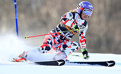 21.02.2015, Pohorje, Maribor, SLO, FIS Weltcup Ski Alpin, Maribor, Riesenslalom, Damen, 1. Lauf, im Bild Michaela Kirchgasser (AUT) // Michaela Kirchgasser of Austria during the 1st run of ladie's Giant Slalom of the Maribor FIS Ski Alpine World Cup at the Pohorje in Maribor, Slovenia on 2015/02/21. EXPA Pictures © 2015, PhotoCredit: EXPA/ Erwin Scheriau