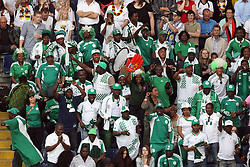 30.06.2011, Commerzbank Arena, Frankfurt, GER, FIFA Women Worldcup 2011, Gruppe A, Deutschland (GER) vs. Nigeria (NGA), im Bild:  Fans Nigeria..// during the FIFA Women Worldcup 2011, Pool A, Germany vs Nigeria on 2011/06/30, Commerzbank Arena, Frankfurt, Germany.  EXPA Pictures © 2011, PhotoCredit: EXPA/ nph/  Mueller *** Local Caption ***       ****** out of GER / CRO  / BEL ******