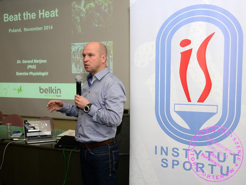 Spala 18/11/2014<br /> Konferencja trener&oacute;w szkolenia olimpijskiego<br /> Na zdj. Gerard Rietjens<br /> Fot. Piotr Hawalej
