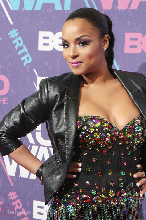 New York, NY- FEBRUARY 29: Recording Artist NoNe at the BET Rip The Run Way held at the Hammerstein Ballroom on February 29, 2012 in New York City. Photo Credit: Terrence Jennings