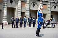 Stockholm, 06-06-2017 <br /> <br /> Prince Carl Philip at the official changing of the guards at the Royal Palace at the National Day of Sweden.<br /> <br /> <br /> COPYRIGHT: ROYALPORTRAITS EUROPE/ BERNARD RUEBSAMEN