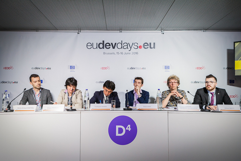 20160615 - Brussels , Belgium - 2016 June 15th - European Development Days - The people's peace - Time to think urban © European Union