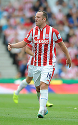 Charlie Adam of Stoke City cuts a frustrated figure - Mandatory byline: Dougie Allward/JMP - 07966386802 - 09/08/2015 - FOOTBALL - Britannia Stadium -Stoke-On-Trent,England - Stoke City v Liverpool - Barclays Premier League