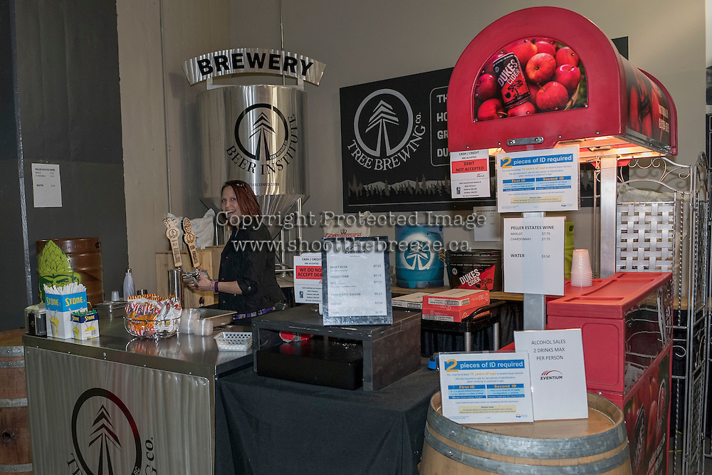 KELOWNA, CANADA - FEBRUARY 13:  Tree Brewery on February 13, 2017 at Prospera Place in Kelowna, British Columbia, Canada.  (Photo by Marissa Baecker/Shoot the Breeze)  *** Local Caption ***