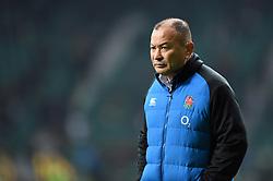 England Rugby Head Coach Eddie Jones - Mandatory byline: Patrick Khachfe/JMP - 07966 386802 - 24/11/2018 - RUGBY UNION - Twickenham Stadium - London, England - England v Australia - Quilter International