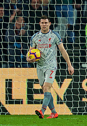 LONDON, ENGLAND - Monday, February 4, 2019: Liverpool's captain James Milner looks dejected as West Ham United score an equalising goal during the FA Premier League match between West Ham United FC and Liverpool FC at the London Stadium. (Pic by David Rawcliffe/Propaganda)